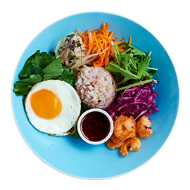 Bibimbap Rice Salad